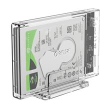ORICO 2159U3 2.5 inch Transparent USB3.0 Hard Drive Enclosure with Stand
